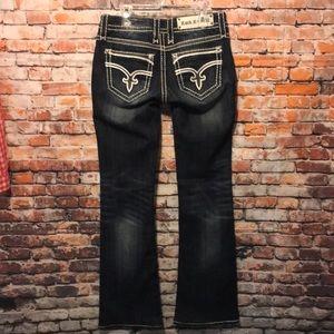 Rock Revival Jeans - Rock revival jeans Dee style fleur denim